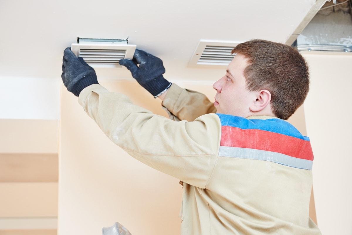 ventilatiesysteem installeren